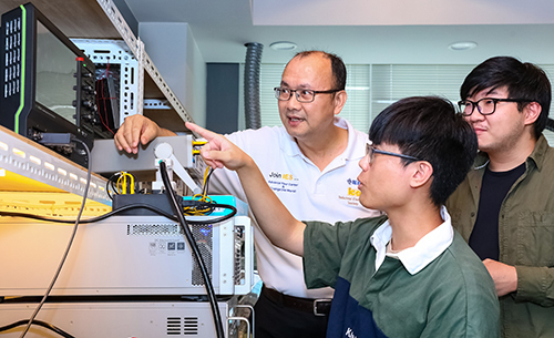 Lai has been devoted to vocational education for over three decades (Picture provided by TECO Technology Foundation)