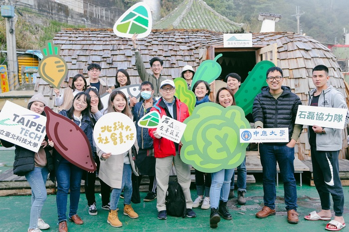 The Taipei Tech University Social Responsibility (USR) Office has been implementing a program that helps promote eco-friendly local produce